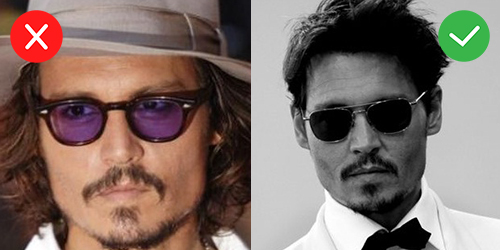6b26c2425935 ... style and ruins it by going OTT with some ill-judged purple lenses that  even one of Hollywood s biggest heart-throbs couldn t carry off. Purple
