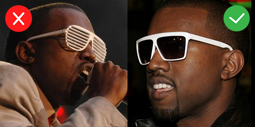 dc51d6e2ea I ve never been a fan of shutter shades. Kanye was somehow able to drag them  out of obscurity and back into the mainstream when he made it big in 2007