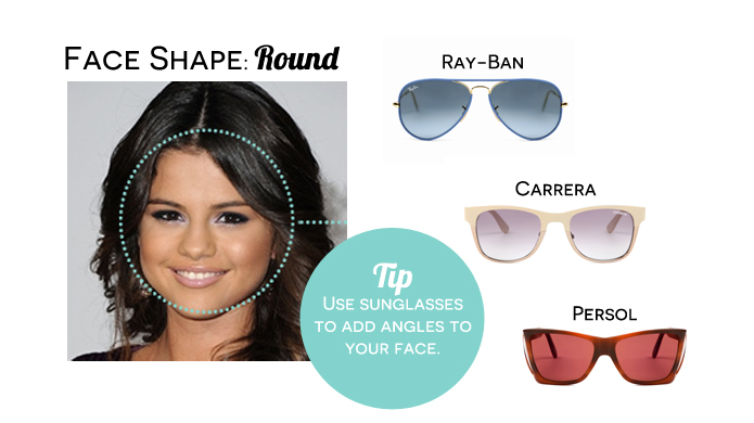 Womens Celebrity Face Shape Celebrity Eyewear Spotter ...