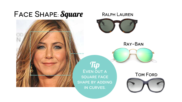 Best Glasses Frame Shape For Square Face : Womens Celebrity Face Shape Celebrity Eyewear Spotter ...
